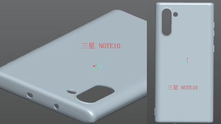 Samsung Galaxy Note 10 kılıf tasarımı ortaya çıktı! - ShiftDelete.Net (1)