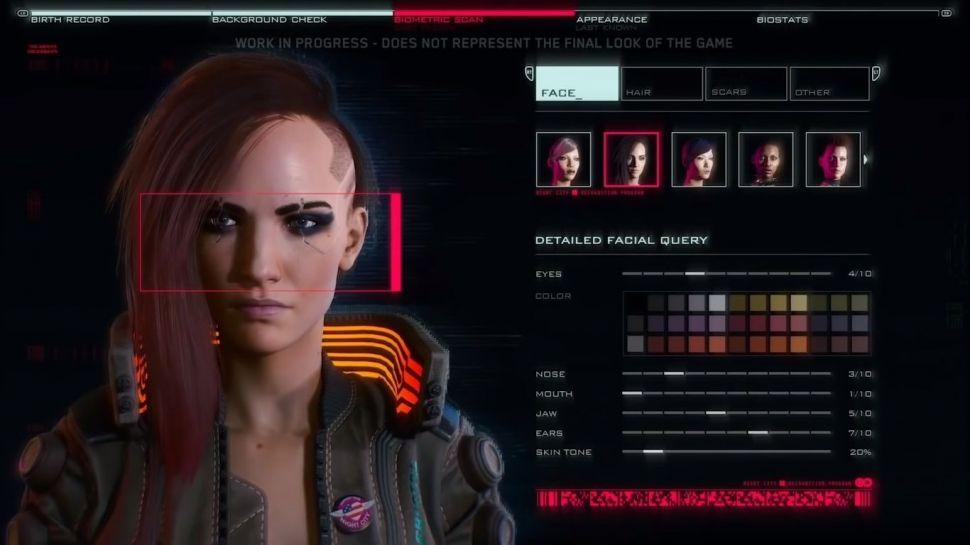Cyberpunk 2077 karakter oluşturma özelliği detaylandırıldı