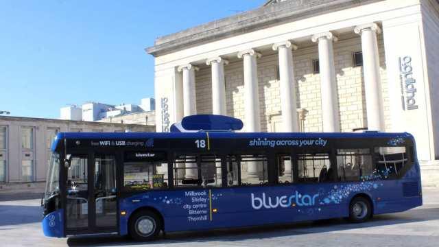 hava temizleyen otobüs bluestar 2