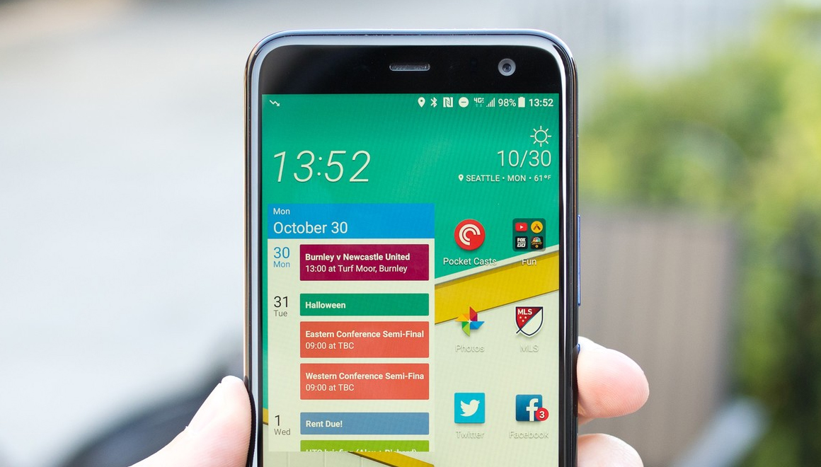 HTC U11 Android Pie güncellemesi