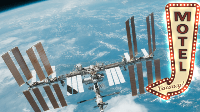 NASA space station will become tourist center