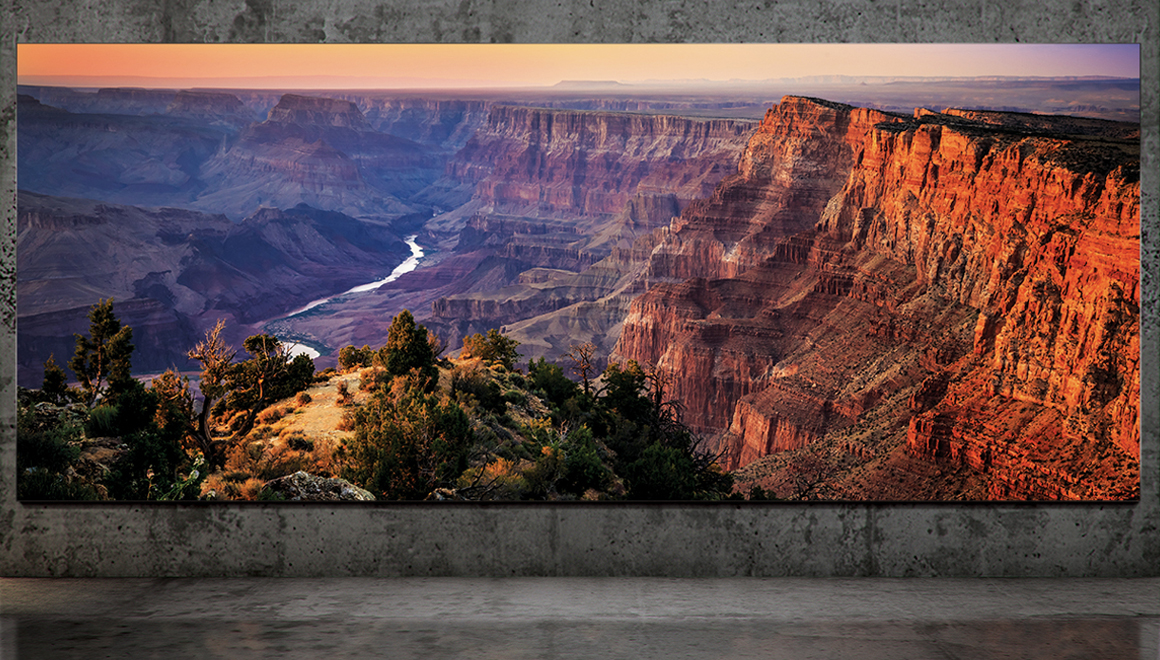 Samsung'dan 292 inçlik devasa 8K televizyon: The Wall Luxury