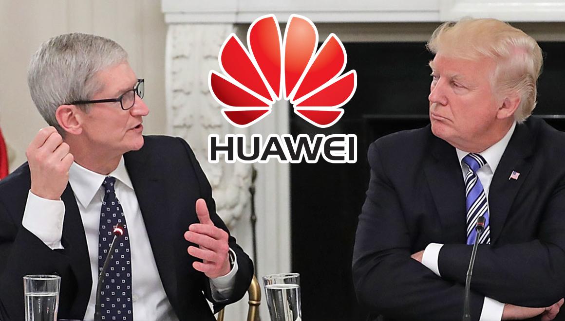 Tim Cook ve Donald Trump ticaret savaşını görüştü!