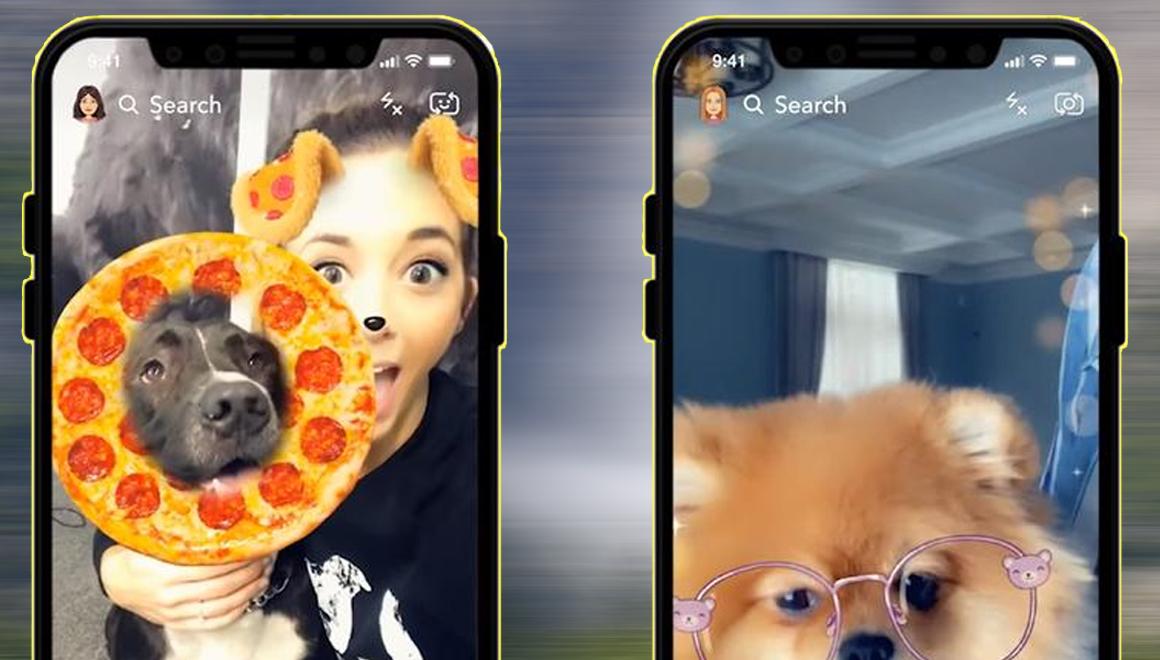 Snapchat 3D fotoğraf özelliği iPhone X ve üst modellerde!