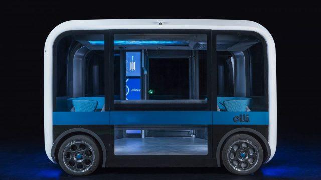 sürücüsüz minibüs, 3D yazıcı