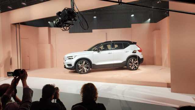 Elektrikli Volvo XC40 sonunda tanıtıldı