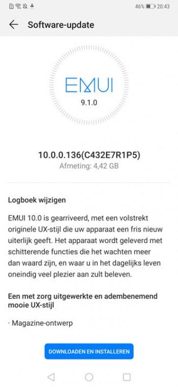 Huawei Mate 20 Pro için Android 10 müjdesi