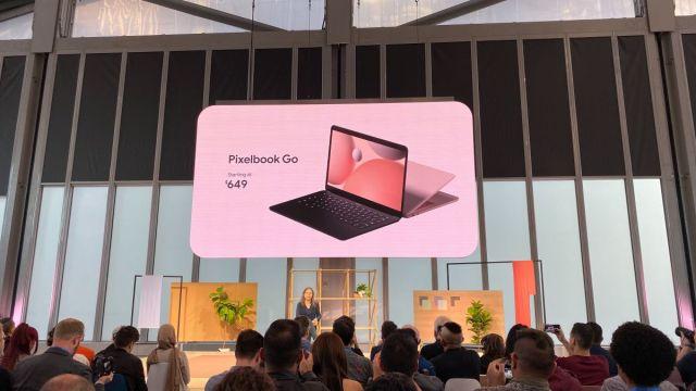 Pixelbook ailesine yeni üye: Pixelbook Go