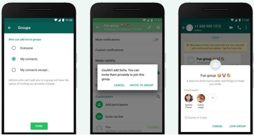 WhatsApp grupları için yeni bir dönem başladı