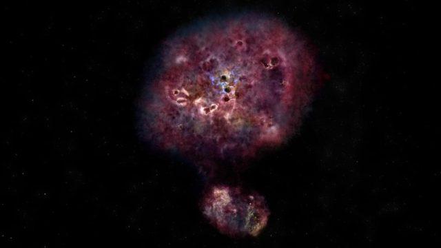 mambo-9, en yaşlı galaksi, evrenin oluşumu, büyük patlama