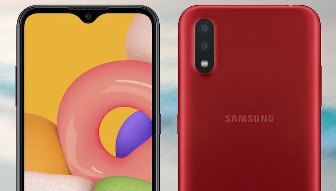Samsung Galaxy A01 özellikleri ve fiyatı