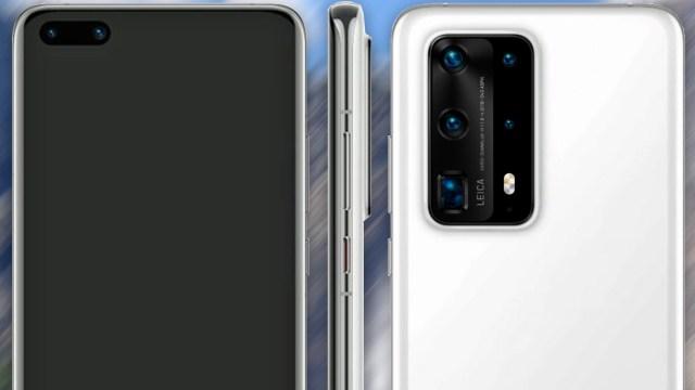 Huawei P40 Premium tasarımı ortaya çıktı!