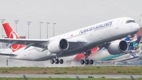 THY'nin yeni uçağı: Airbus A350 gökyüzü ile buluştu!