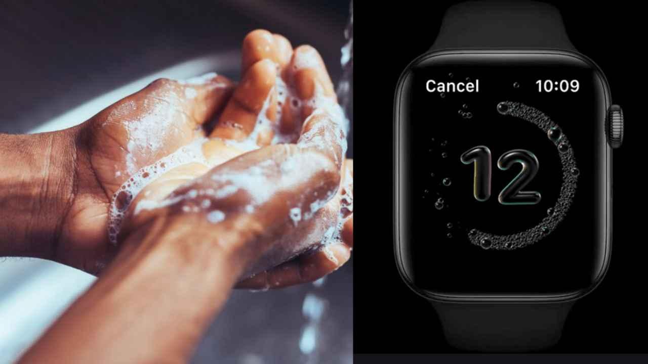 Apple Watch el yıkama sayacı