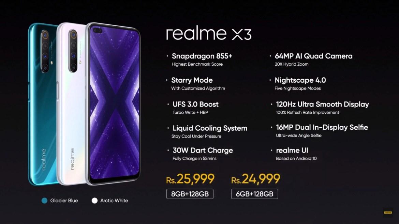 realme x3 fiyatı