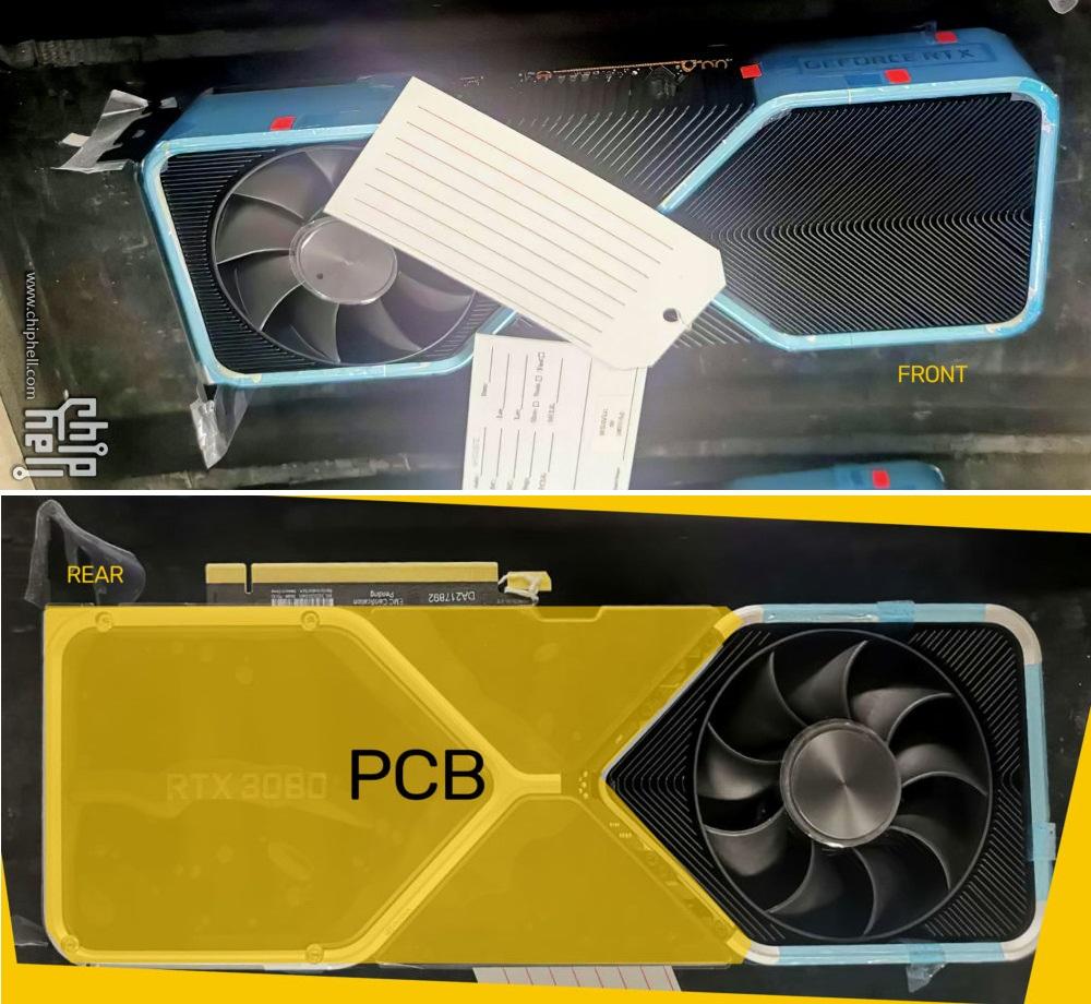 Referans NVIDIA GeForce RTX 3080