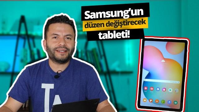 Samsung Galaxy Tab S6 Lite inceleme
