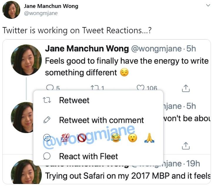 Twitter Reaksiyonları