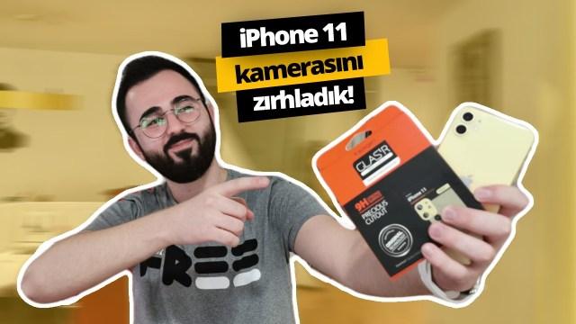 Spigen aksesuarlari ile iPhone 11 kamerasini zirhladik