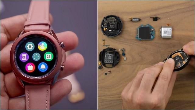 Samsung Galaxy Watch 3 parçalarına ayrıldı