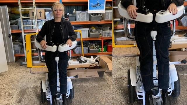 Dik durmayı saglayan tekerlekli sandalye tasarımı-