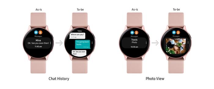 Samsung Galaxy Watch Active 2 güncellemesi