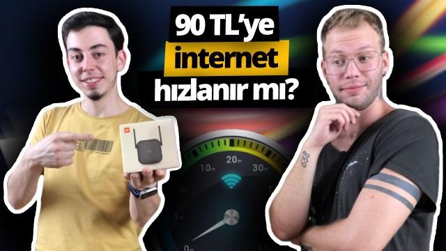 90 liraya internet hızlanır mı, Mi WiFi Pro 300 ağ güçlendirici