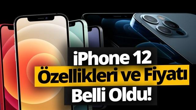 iPhone 12 özellikleri, iPhone 12 pro özellikleri, iPhone 12 mini özellikleri, iPhone 12 pro max özellikleri, canlı yayın