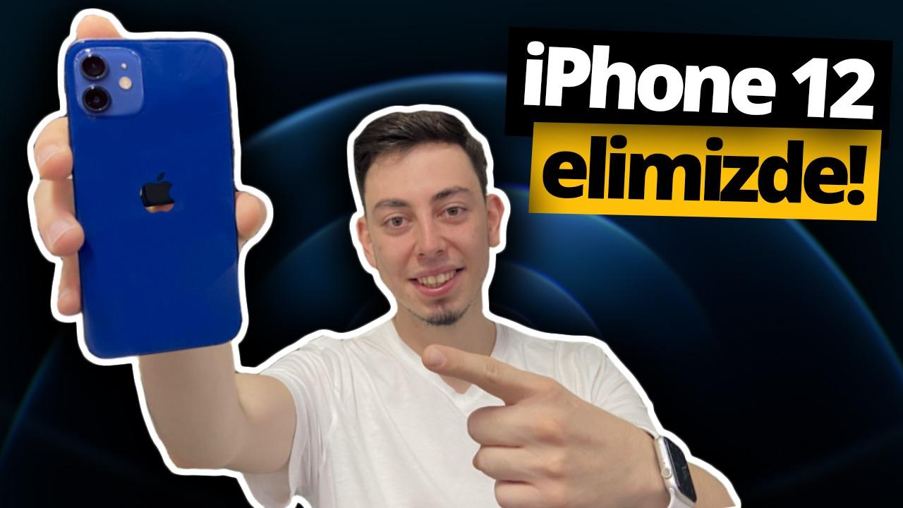 Beklenen telefon iPhone 12 elimizde! 1