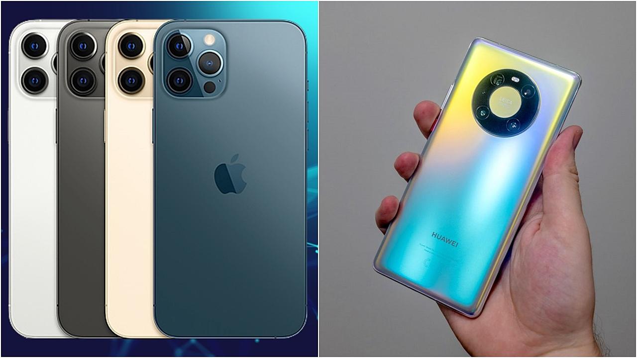 Karşılaştırma: iPhone 12 Pro Max ve Huawei Mate 40 Pro 1