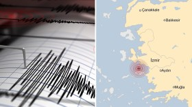 İzmir'de deprem! AFAD'dan SMS ve internet uyarısı!