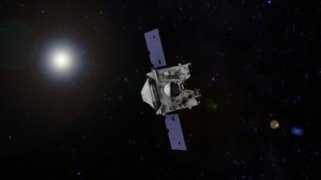 Osiris-Rex uzay aracı Bennu asteroidine iniyor