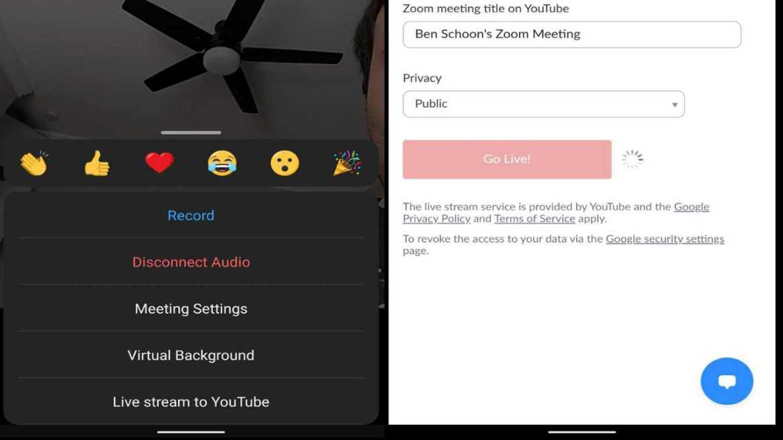 zoom android uygulaması