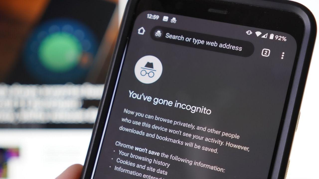 Google Chrome Android uygulaması gizli mod-00