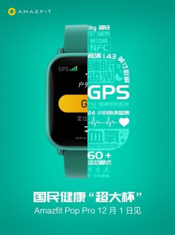 uygun fiyatlı akıllı saat, amazfit pop pro, amazfit akıllı saat, amazfit pop pro özellikleri