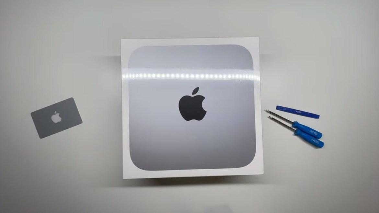 Apple M1 Mac mini işlemcisi