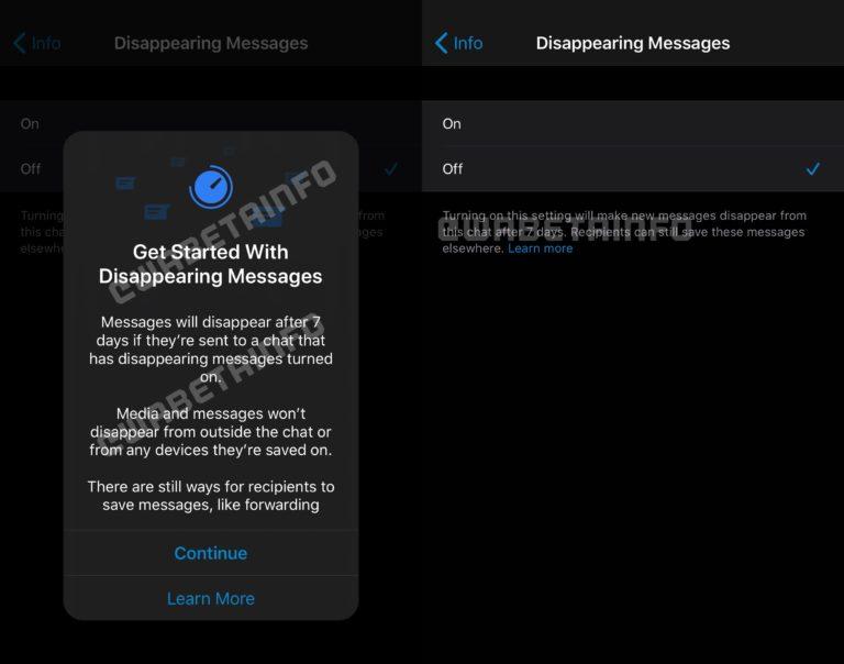 WhatsApp kaybolan mesaj özelliği ile gündemde