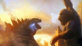 Godzilla vs Kong filminden ilk görüntüler!