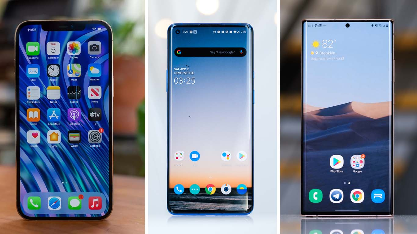 En iyi ekrana sahip telefonlar
