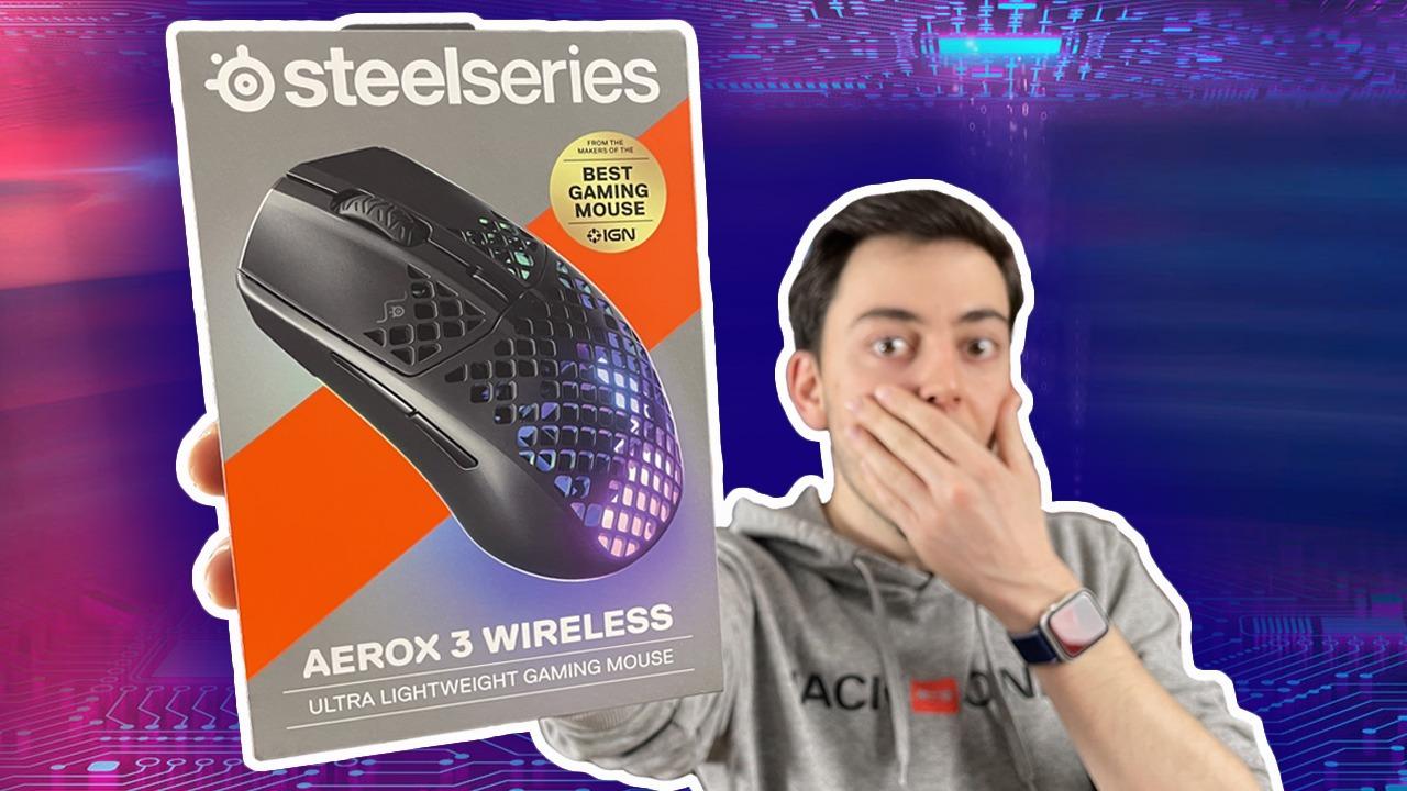 SteelSeries Aerox 3 Wireless incelemesi