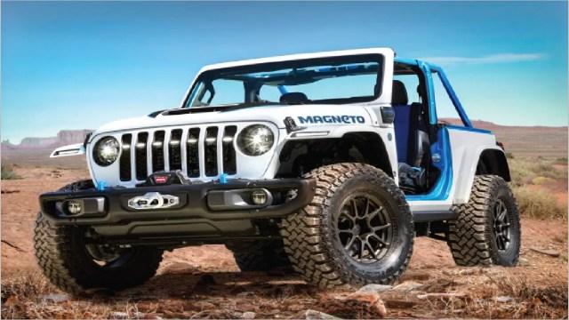 Jeep de elektrikli rüzgarına kapıldı: Wrangler Magneto