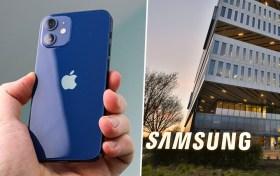 Apple, Samsung'a tazminat ödeyebilir: iPhone 12 mini