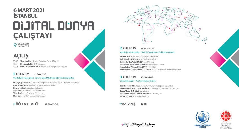 dijital dünya çalıştayı