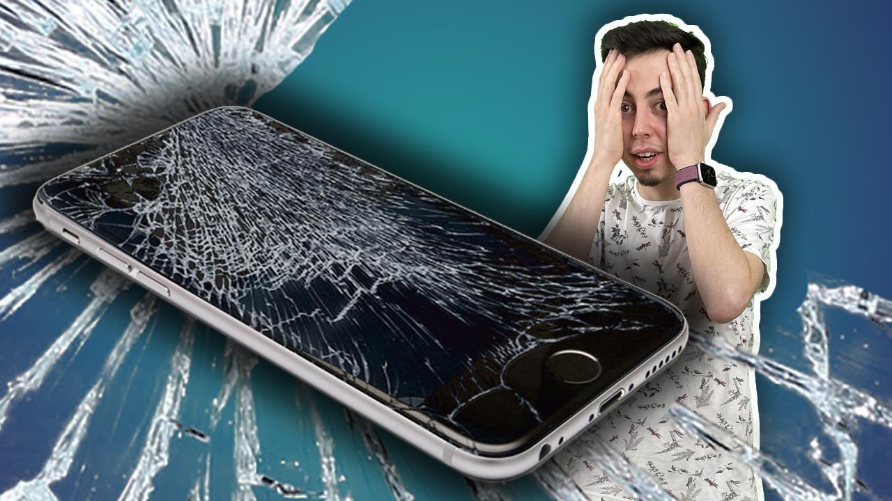 Teknoway cep telefonu kırık ekran değişimi