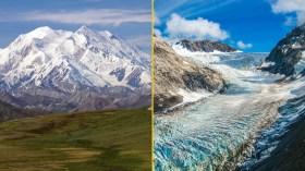 Alaska buzulları nadir görülen bir olayla karşı karşıya
