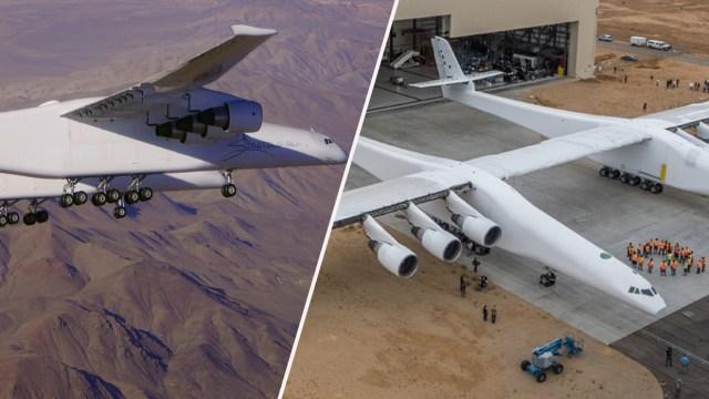 dünyanın en büyük uçağı, stratolaunch uçuşu, stratolaunch ikinci uçuşu, roc