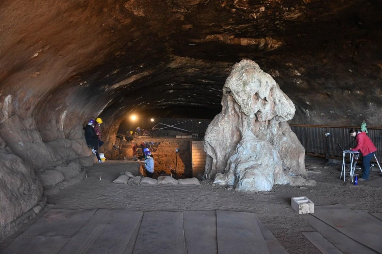 wonderwerk mağarası ilk ev