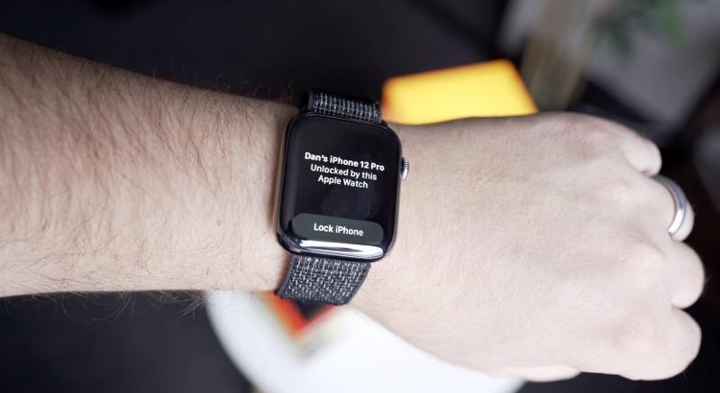apple watch ile kilit açma