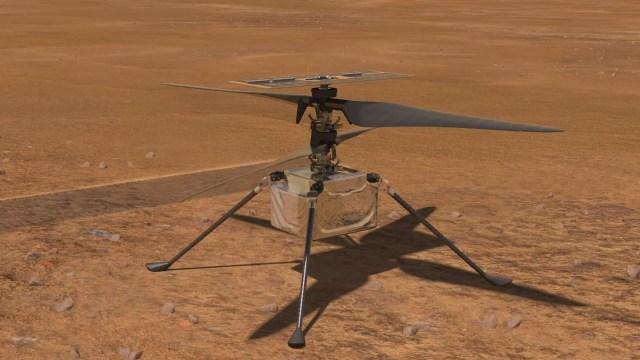 Mars helikopteri Ingenuity'e sürpriz görev