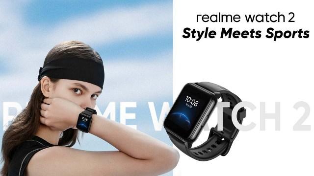 Realme Watch 2 şık tasarımıyla duyuruldu! İşte fiyatı